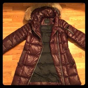 Like new extreme down coat by Marc newt York